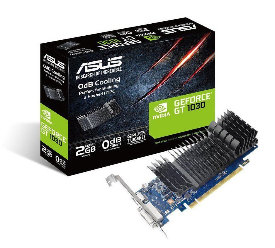 Видеокарта ASUS GeForce GT1030 2GB 64bit GDDR5
