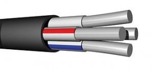 Кабель АВВГ 3х 35+1х16  0,66 кВ (300/бар)   ГОСТ