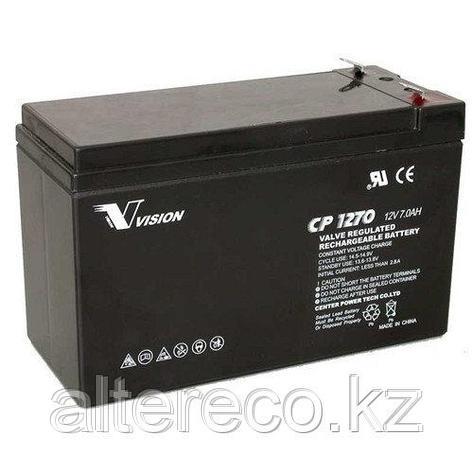 Аккумулятор Vision CP1270 (12В, 7Ач), фото 2