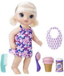 Кукла Hasbro Baby Alive Малышка с мороженым C1090