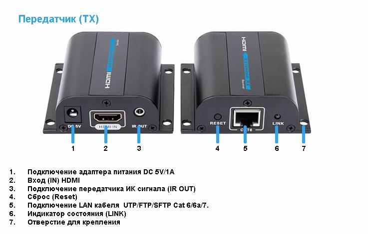 Удлинители HDMI LKV372AE