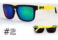 Солнцезащитные очки SPY+ Helm черная оправа,желтые дужки