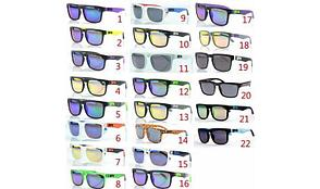 Солнцезащитные очки SPY+ Helm, прозрачная оправа, черные дужки, оранжевое лого, фото 2