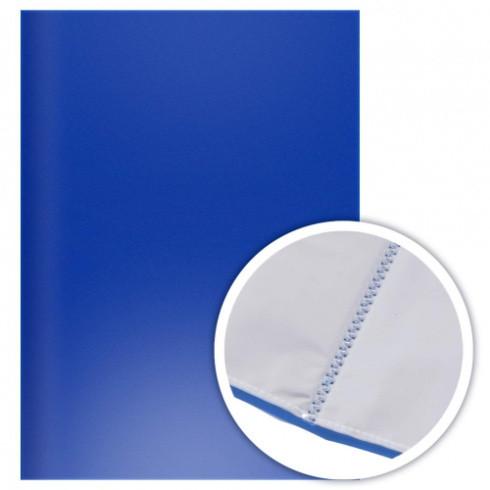 Папка А4 40 файлов Эконом синяя (DOLCE COSTO)