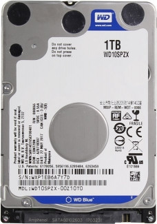 "Жесткий диск WD Blue 1TB WD10SPZX (2.5"")"