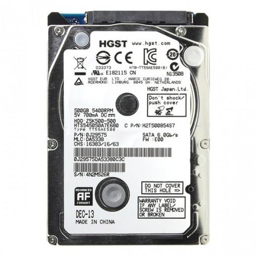"Жесткий диск Hitachi Travelstar Z5K500 500 ГБ HTS545050A7E680 (2.5"")"