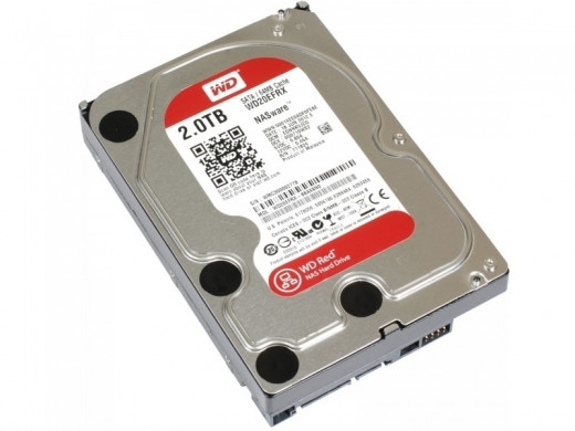 "Жесткий диск WD 2Tb 64Mb WD20EFRX (3.5"")"