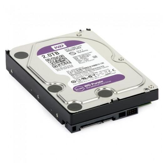 "Жесткий диск WD 2Tb 64Mb WD20PURX (3.5"")"