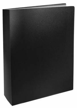 Папка с 100 прозр.вклад. Silwerhof Basic 255152-01 A4 0.8мм черный