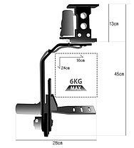 Junior-D /5 кг/Версия 2016/ Панорамная головка  для операторского крана от PROAIM INDIA, фото 3