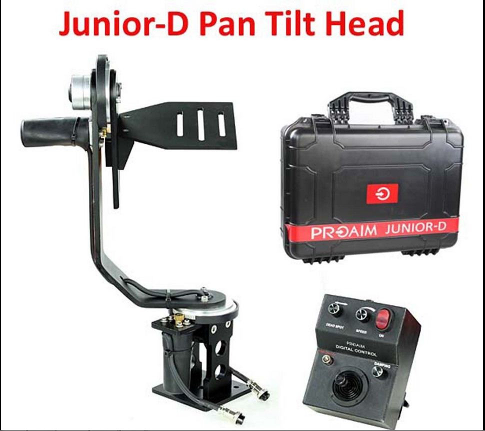 Junior-D /5 кг/Версия 2016/ Панорамная головка  для операторского крана от PROAIM INDIA
