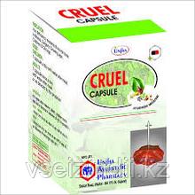 Круэль, Cruel, Unjha, 30 капс.. мастопатия, киста, онкология, анемия, туберкулез, абцесс, раны, язвы