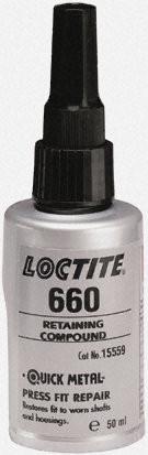 Loctite 660 50ml, Фиксатор втулок и подшипников -Quick Metal