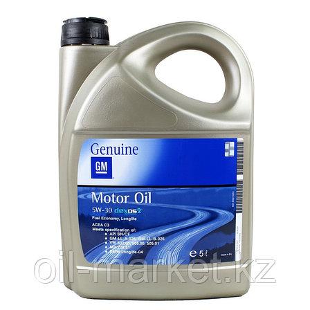 Моторное масло GM DEXOS2 5W-30 (EU) 5L 1942003, фото 2