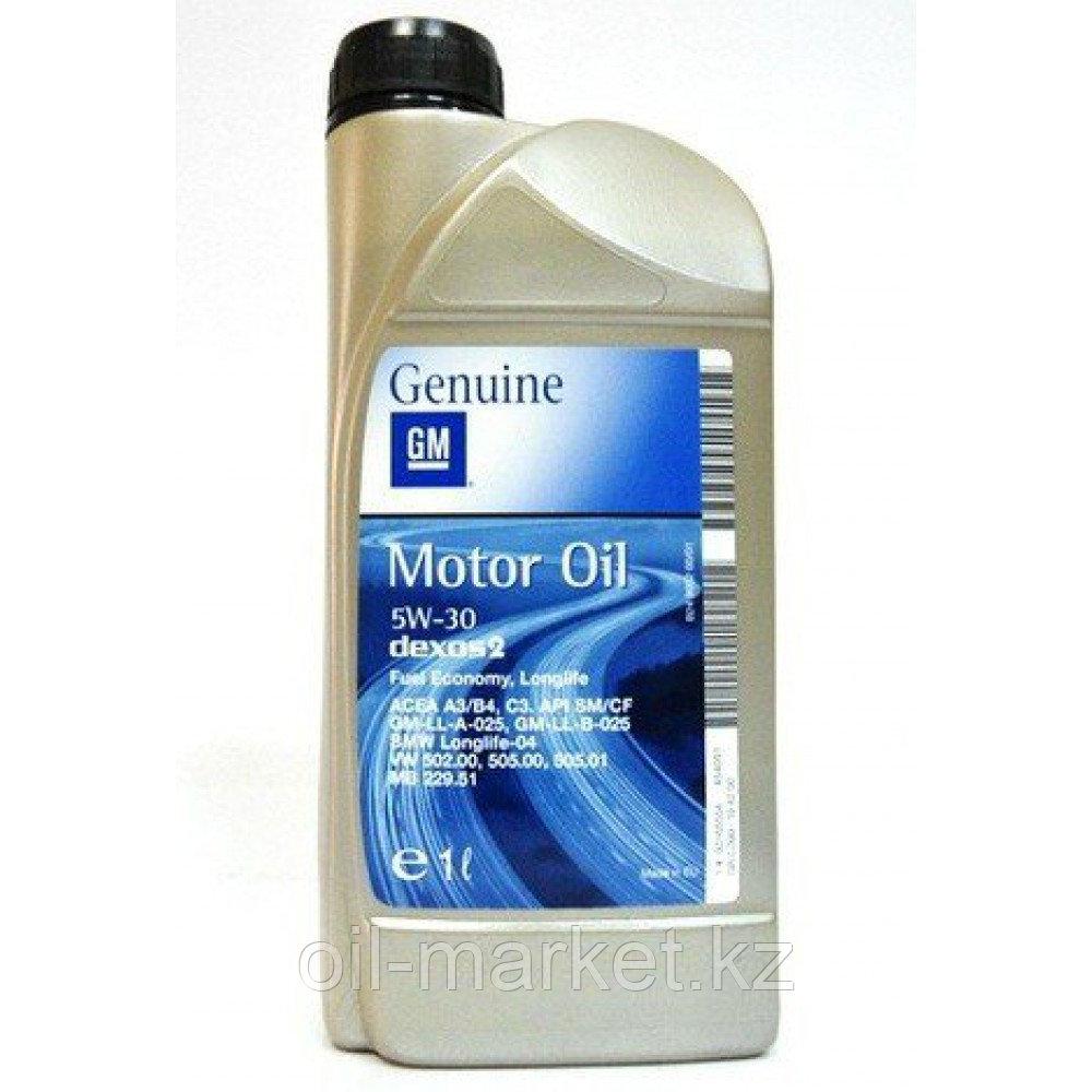 Моторное масло GM DEXOS2 5W-30 (EU) 1L 1942000