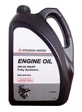 Моторное масло MITSUBISHI ENGINE OIL 5W-40 API SN/CF 4L MZ320362