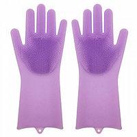 Силиконовые перчатки Magic Brush, фото 1