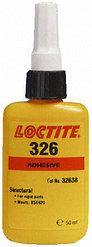 Loctite 326 50ml, Клей конструкционный прозрачный (металл-стекло, металл-металл), применяется с активатором