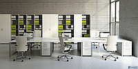 Стол офисный OGI_Q 140/80/74, фото 1