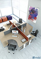 Стол офисный OGI_N угловой 160/120/74, фото 1