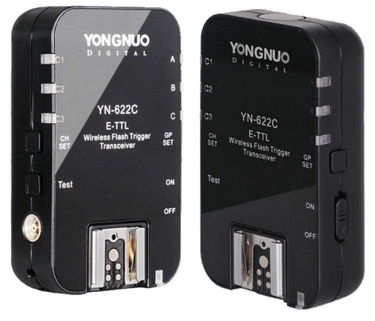 YN 622C E-TTL комплект Радио-синхронизаторов для Canon 6D 7D 60D 70D 700D, MARK и др.