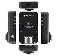 YN 622C E-TTL комплект Радио-синхронизаторов для Canon 6D 7D 60D 70D 700D, MARK и др., фото 3