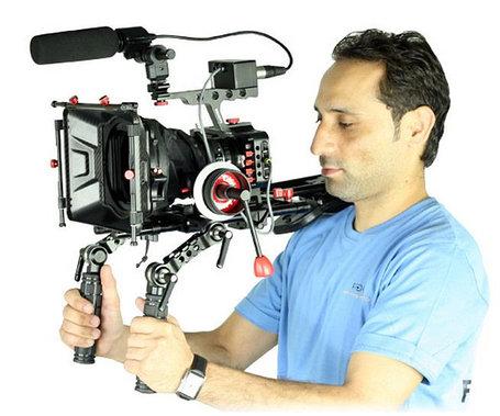 Rig Blackmagic Pocket Camera Плечевой штатив (Риг) для  код:007, фото 2