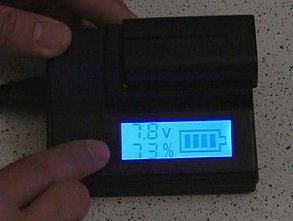 Зарядное с дисплеем для  SONY NP-F970/NP-F770/NP-F550/NP-F570 и т.д., фото 2