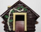 Домик для хомячка Теремок 14см, высота 9 см