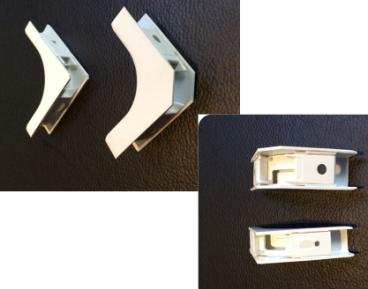 Внутренний угол кабельного канала для FTTH, для DROP кабеля  (15 mm x10 mm), фото 2