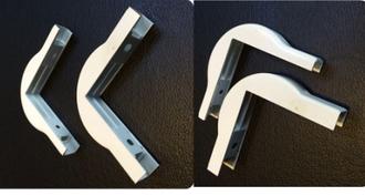 Внешний угол кабельного канала сети FTTH, для DROP кабеля (15 mm x10 mm)