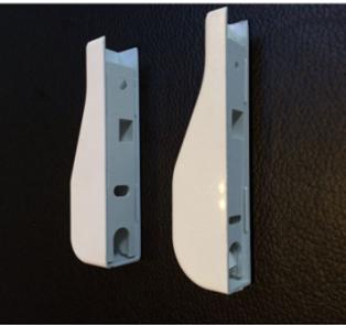Заглушка-[хвостовик) кабельного канала сети FTTH, для DROP кабеля (15 mm x10 mm), фото 2