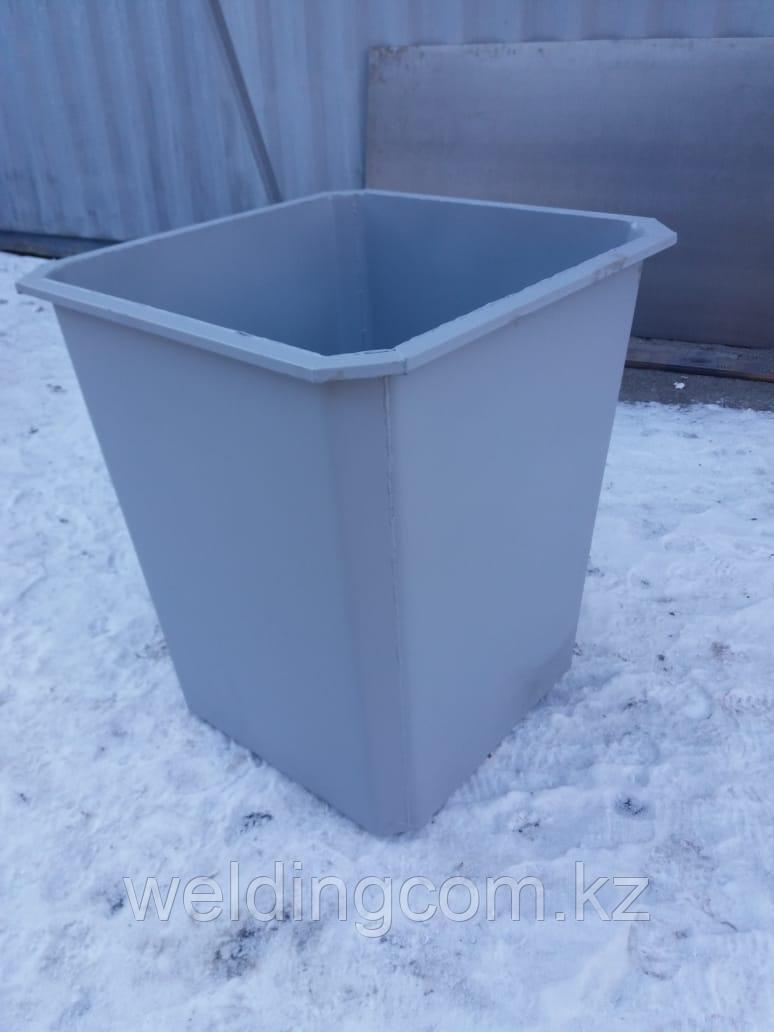 Мусорный контейнер 0,75 куб без крышки без колес