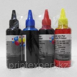 Чернила Epson (EIM) комплект из 4-цветов водорастворимые (BL+C+M+Y) 100 мл, фото 2