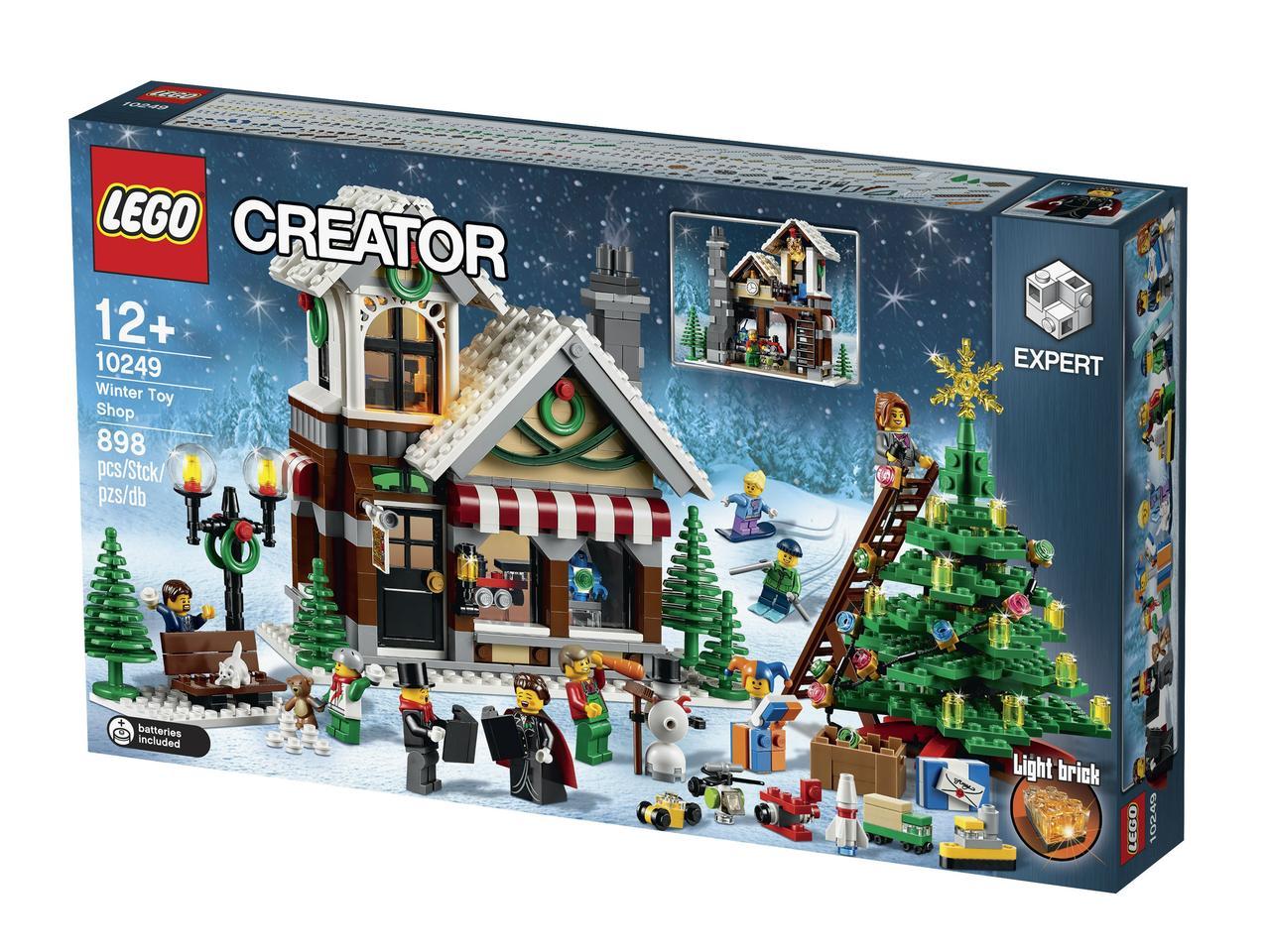 10249 Lego Creator Зимний Магазин Игрушек