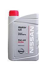 Моторное масло Ниссан / NISSAN MOTOR OIL SAE 5W-40 1L KE90090032