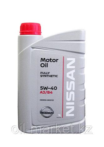 Моторное масло Ниссан / NISSAN MOTOR OIL SAE 5W-40 1L KE90090032, фото 2