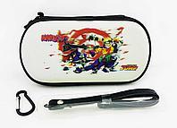 Чехол на молнии с 3D картинкой PSP 1000/2000/3000 3in1 3D picture, Naruto Jamp, фото 1