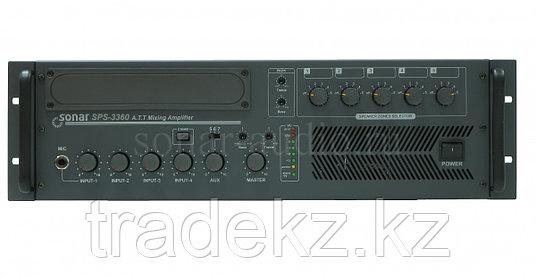 Настольный микшер-усилитель Sonar SPS-3360, фото 2