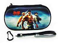 Чехол на молнии с 3D картинкой PSP 1000/2000/3000 3in1 3D picture, Tekken 6, фото 1