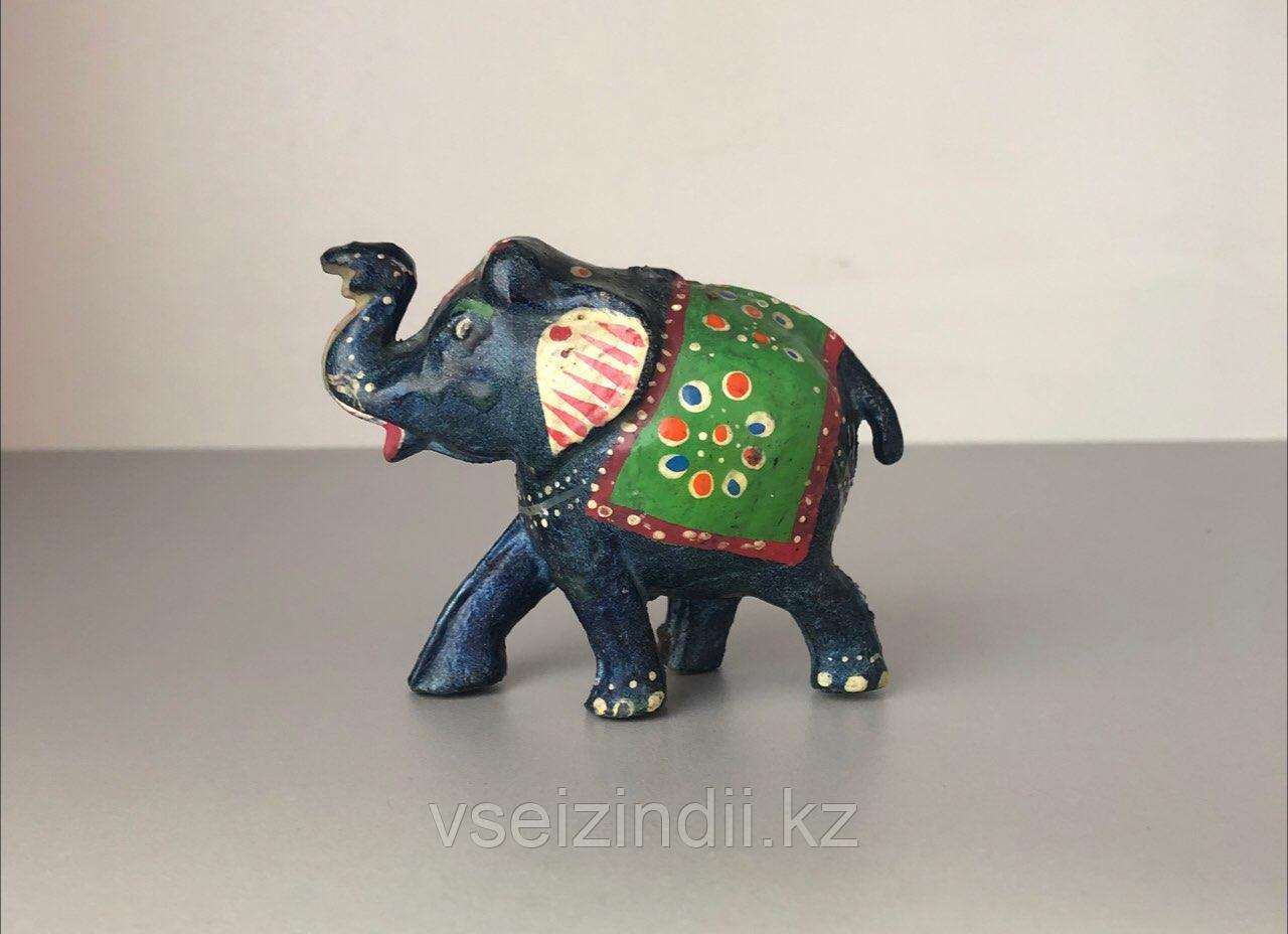 Статуэтка Слон цветной средний.