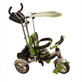 Детские Велосипед трехколесный Mars Trike KR-01 H Зеленый надувные колеса (Китай)