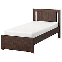 Кровать каркас СОНГЕСАНД коричневый 90х200 ИКЕА, IKEA