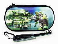 Чехол на молнии с 3D картинкой PSP 1000/2000/3000 3in1 3D picture, Call of Duty, фото 1