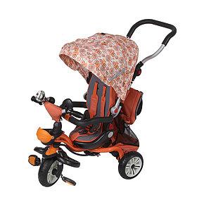 Детский Велосипед Mars Trike Chic-2 Print 3-х колесный оранжевый (Китай)