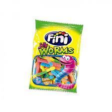 """Жев.мармелад """"Червячки кислые"""" 100гр  Worms /FINI Испания/"""
