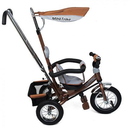 Детский Велосипед Mini Trike LT-950 3-х колесный коричневый (Китай), фото 2