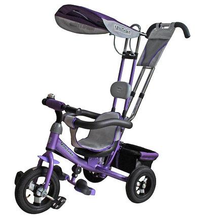 Детский Велосипед Mini Trike LT-950 3-х колесный фиолетовый (Китай), фото 2