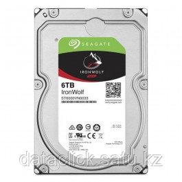 Жесткий диск Seagate IronWolf HDD 6TB 7200rpm 256MB ST6000VN0033 3.5 SATAIII
