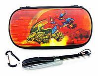 Чехол на молнии с 3D картинкой PSP 1000/2000/3000 3in1 3D picture, Spider Man, фото 1